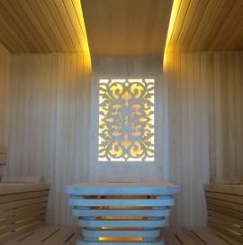 Bakü Villa Projesi – Sauna
